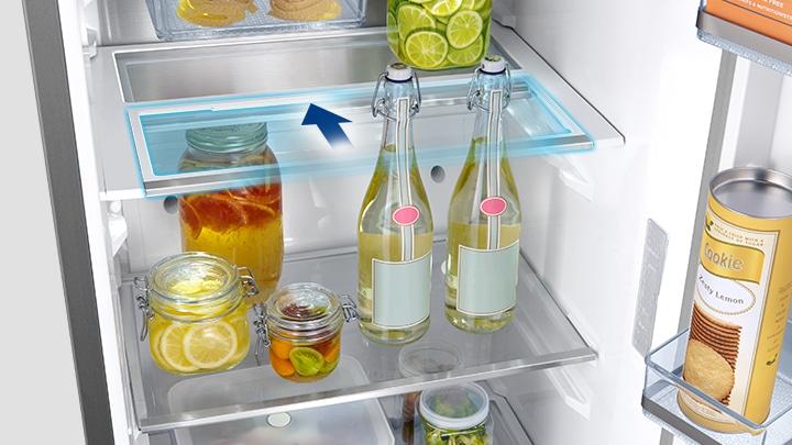 RR7000M Kjøleskap, 385L med Multiflow og Easy Handle