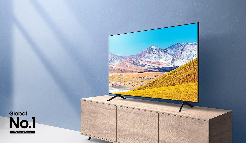43 8005 Crystal UHD 4K Smart TV (2020)   Samsung Norge