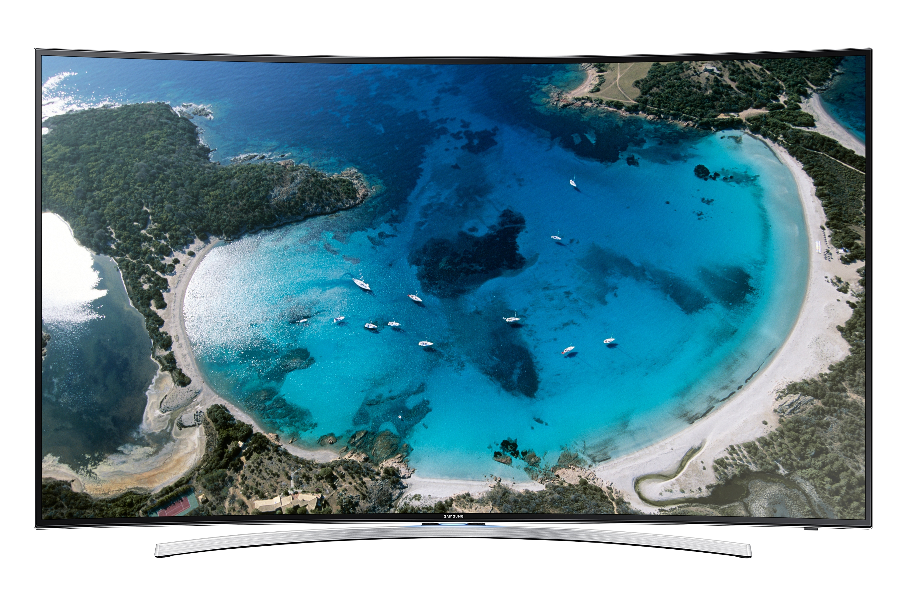 "55"" Full HD Curved Smart TV H8005"