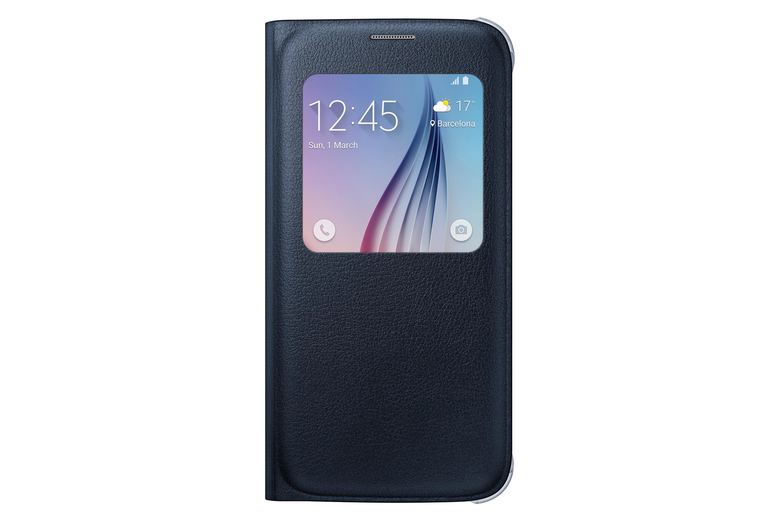 S View Cover i PU-skinn - Galaxy S6