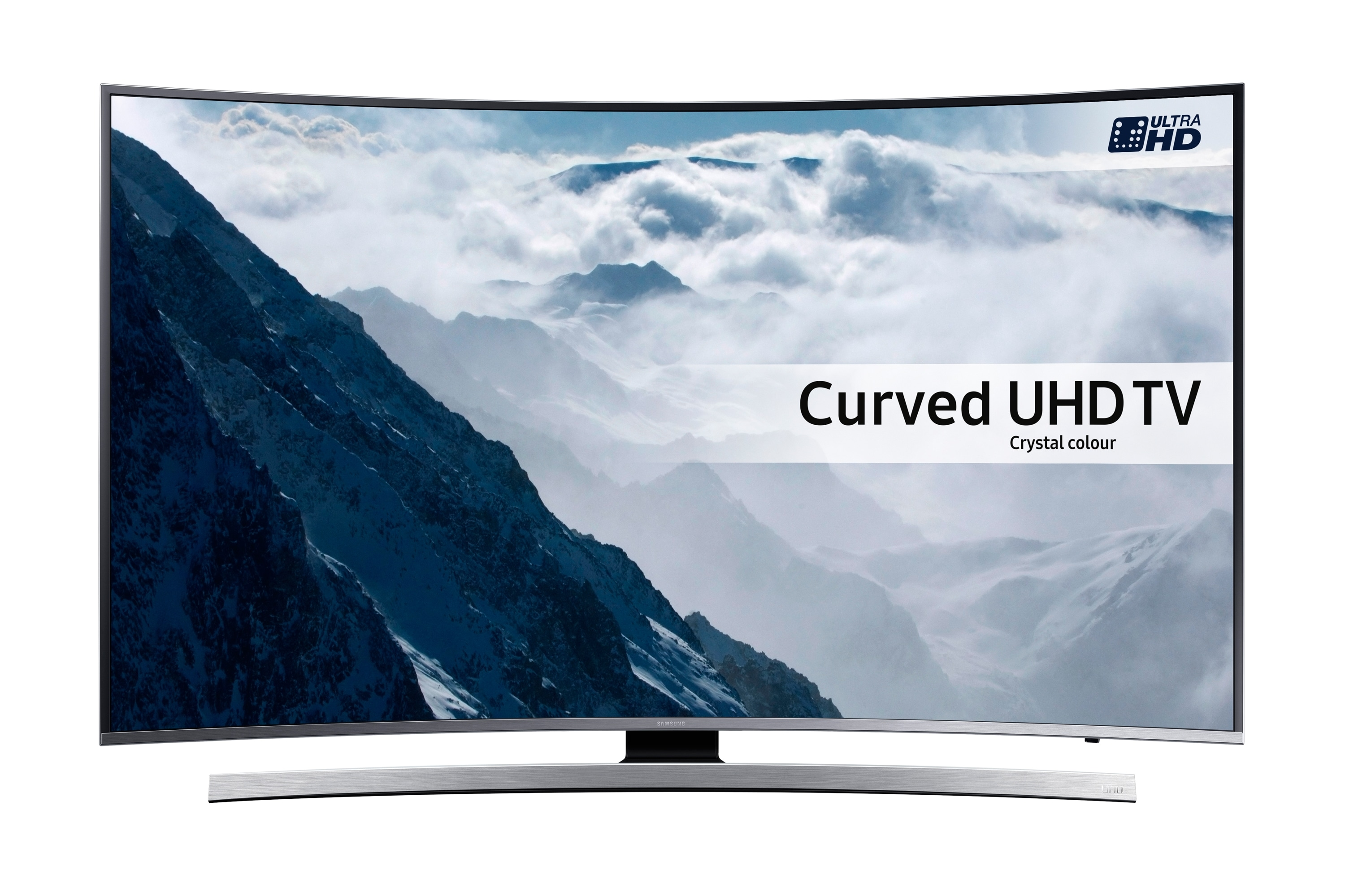 "55"" UHD 4K Curved Smart TV KU6645"