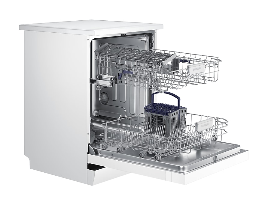DW60M6055FS/SA Dishwasher Perspective open