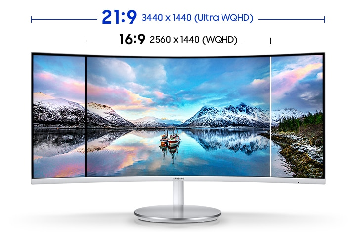 "34"" Ultra-Wide Screen"