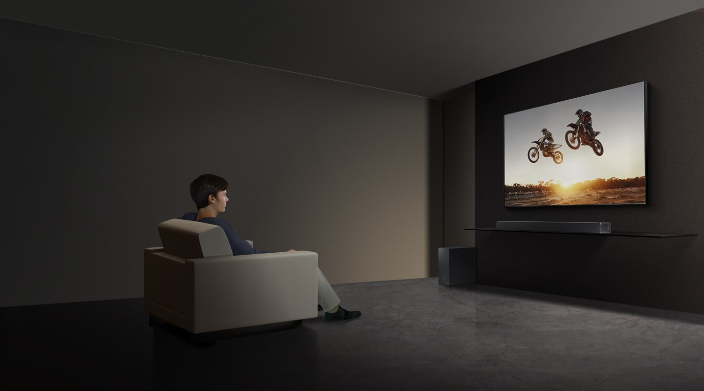 Experience immersive surround sound