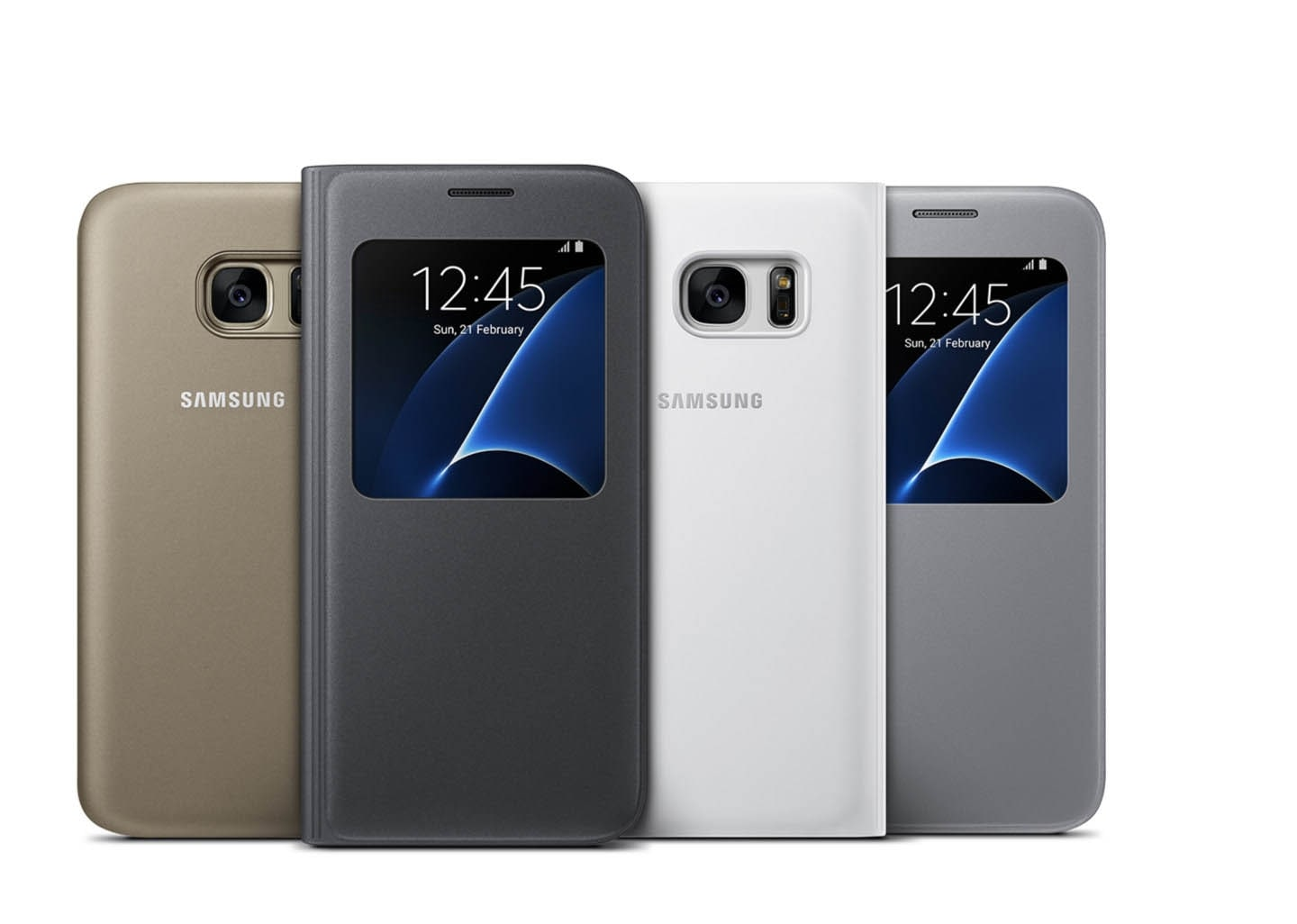 Soft yet durable Galaxy S7 s view cover | Samsung NZ