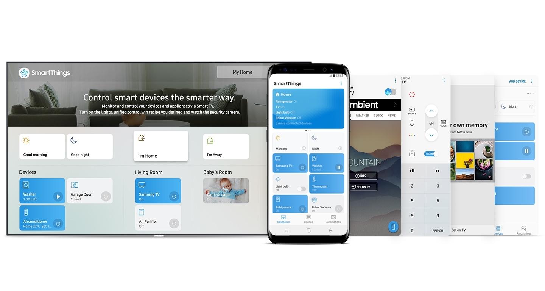 Ứng dụng SmartThings † Chỉ một ứng dụng cho tất cả †
