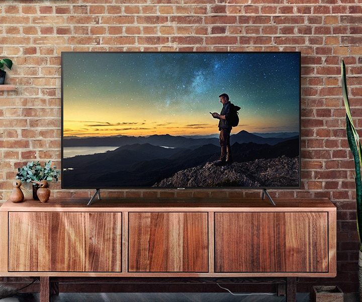 Samsung 4K UHD TV. The Smart Choice