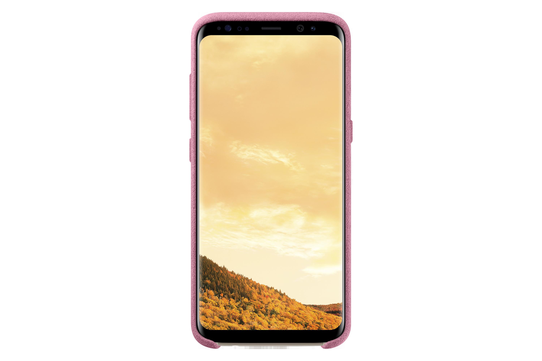 S8 Alcantara Micro Suede Case - Pink