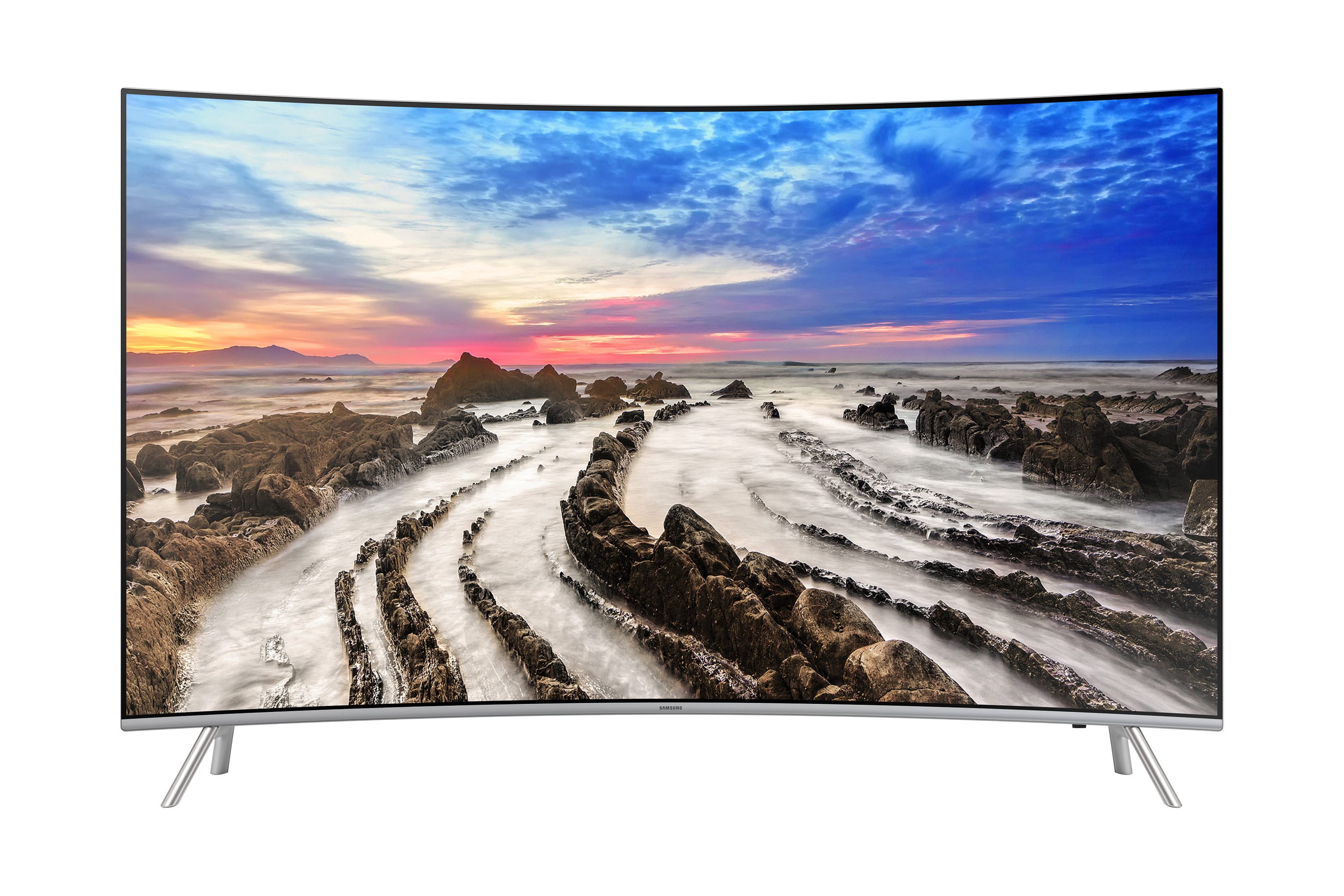 "55"" UHD 4k Curved  TV MU8000 Series 8"