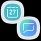 Calendar and Messages icons(On)