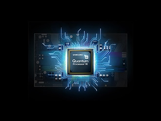 Image of a Samsung Quantum Processor.