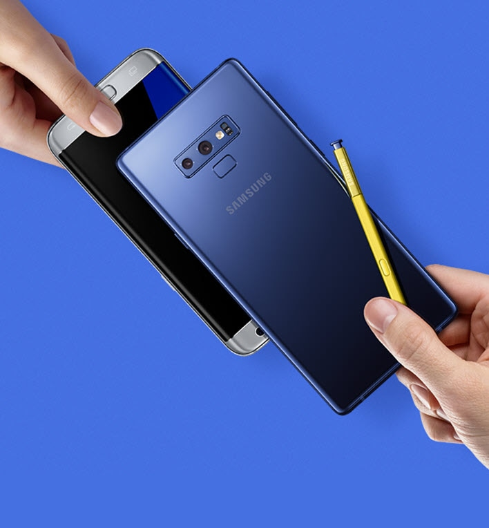 Trade up to Galaxy Note9