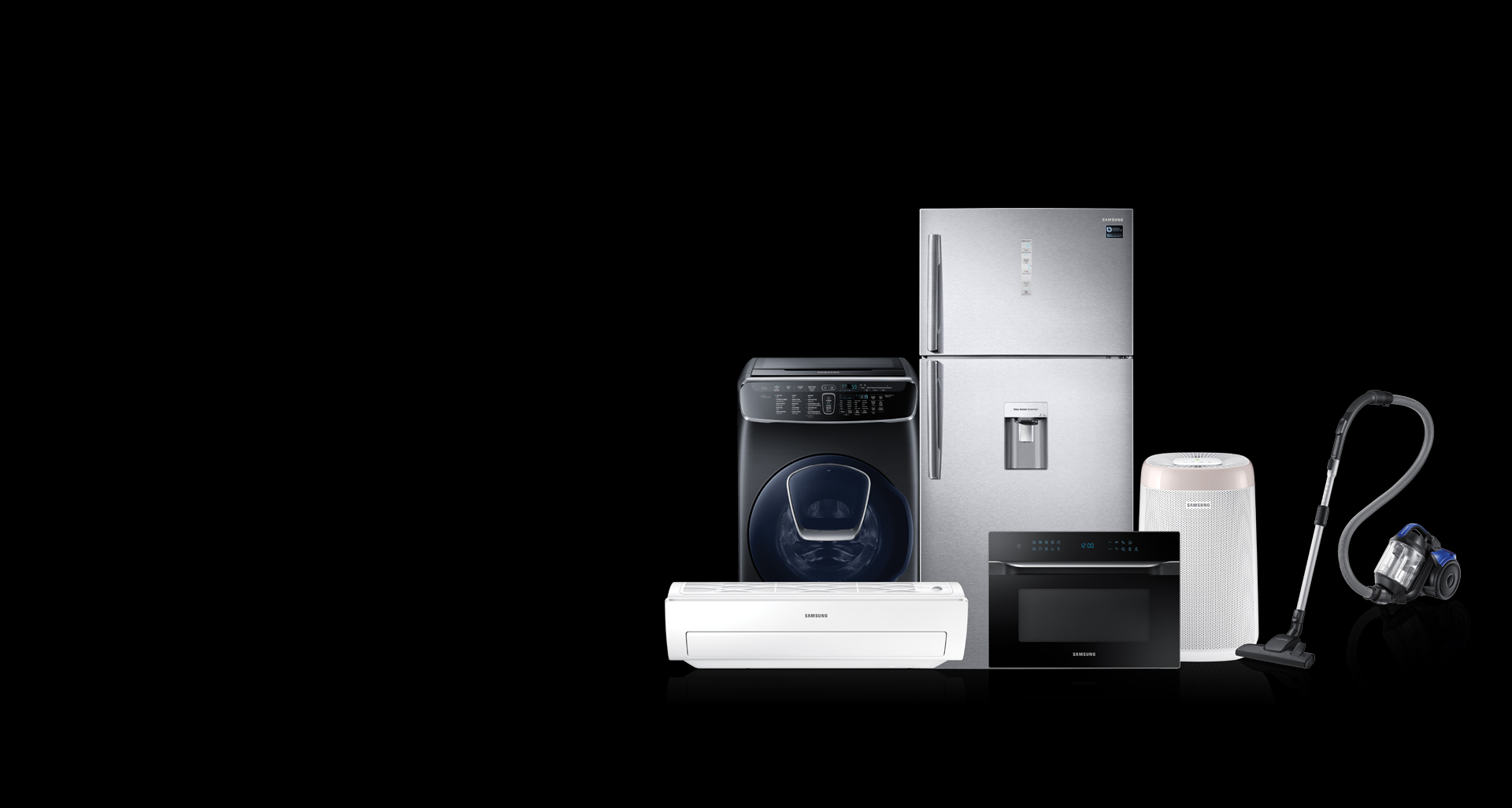 Incredible and exciting offers on Samsung home appliances this DSF.