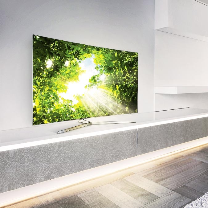 How Installing a TV Has Changed│SUHD TV News