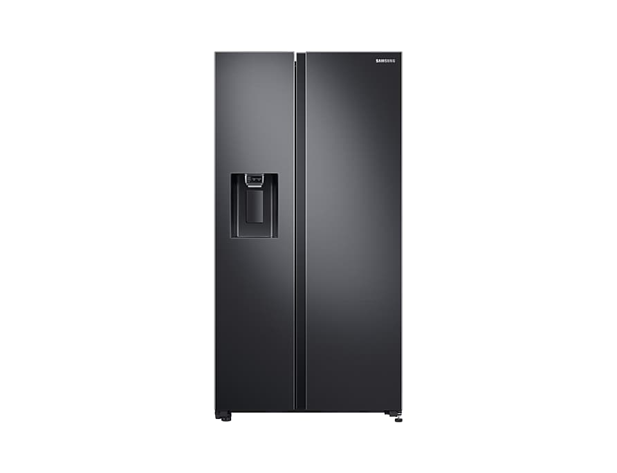A front view of the Samsung Side-by-Side refrigerator