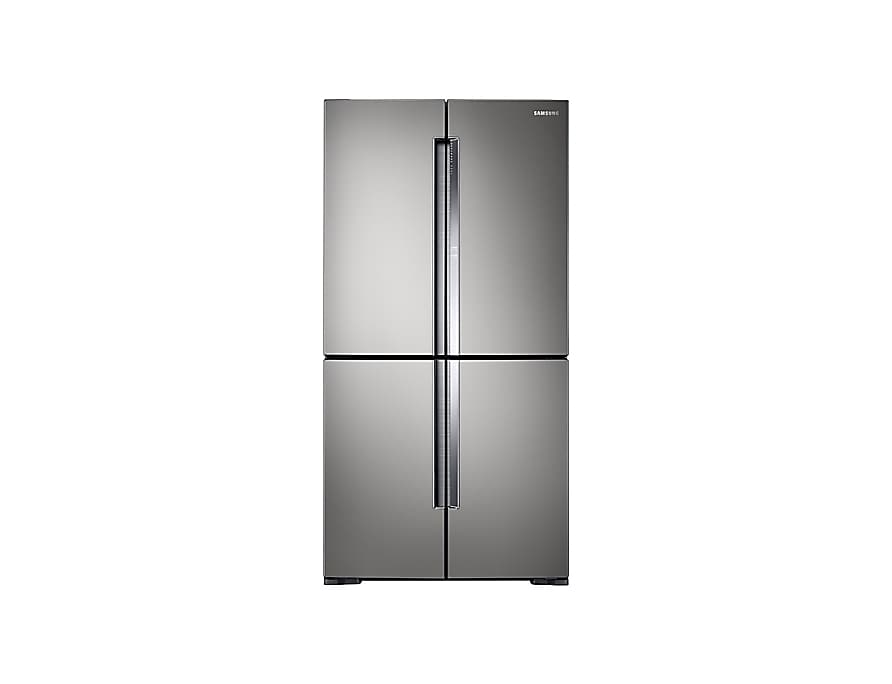 A front view of the Samsung French Door refrigerator