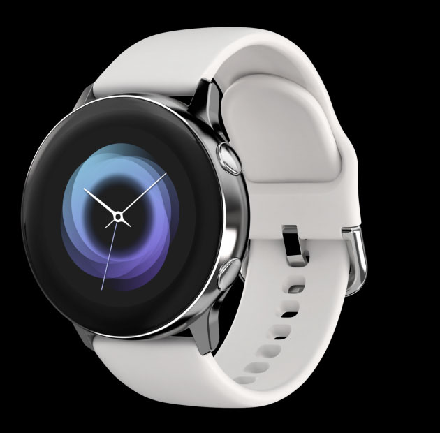 galaxy watch active whole design gui