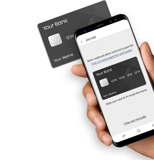 Add card to Samsung Pay