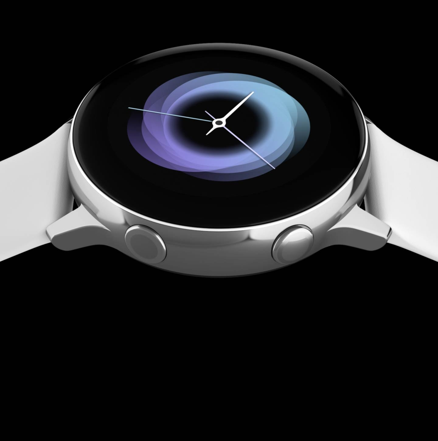 galaxy watch active front overview rotate detail