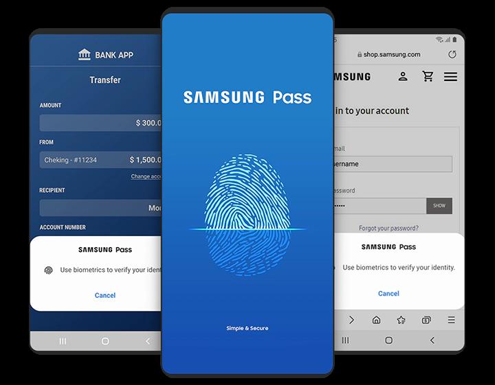 Samsung Pass | Apps & Services | Samsung AFRICA_EN