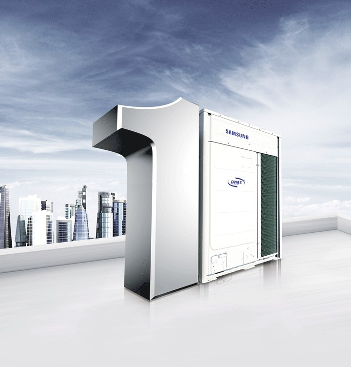 Samsung DVM S includes an innovative Digital Inverter Compressor, an optimised heat exchanger with corrugated fins and highly efficient fans that deliver world-class energy efficiency for today's eco and budget-conscious business.