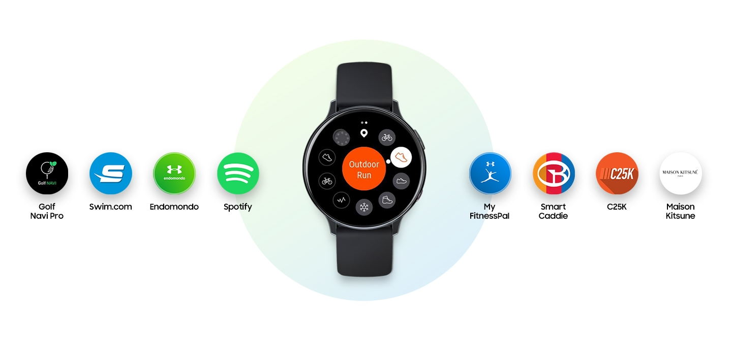 Galaxy Watch Active2 Features und Apps