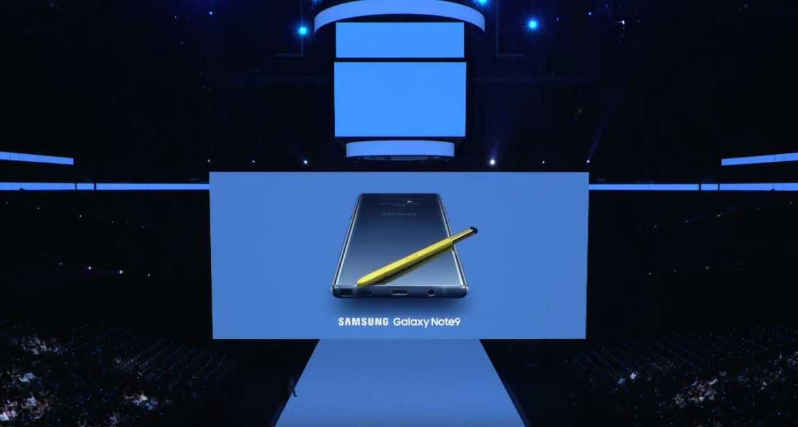 Unpacked event: galaxy note9