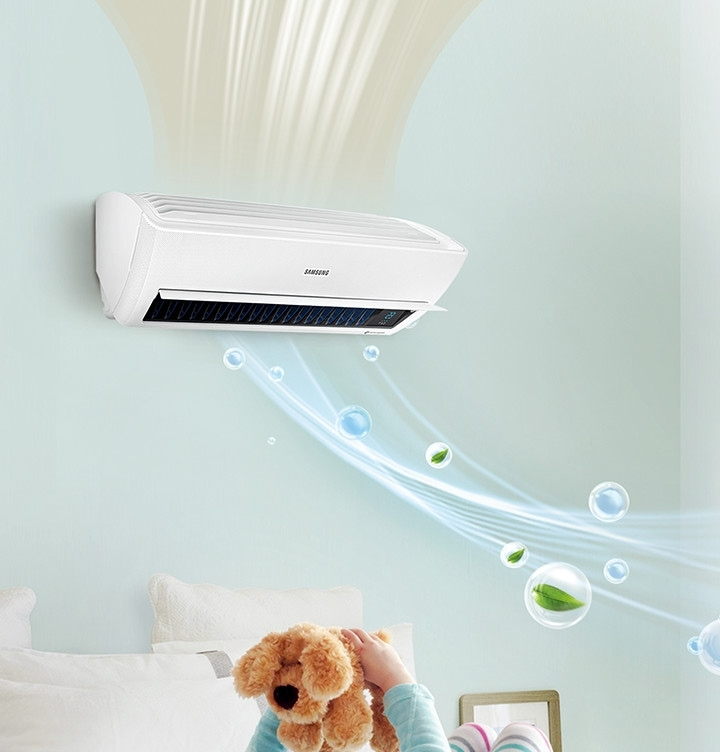 Samsung Air Conditioner Air Care Wall Mount Pure & Healthier Air