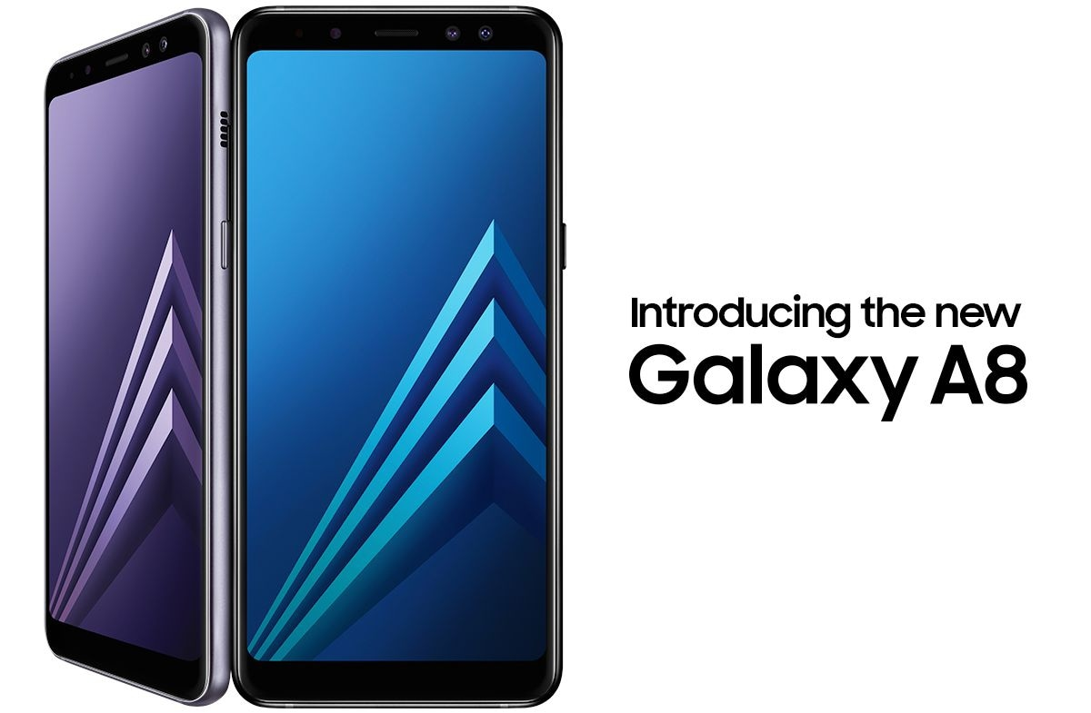 Introducing the new Galaxy A8
