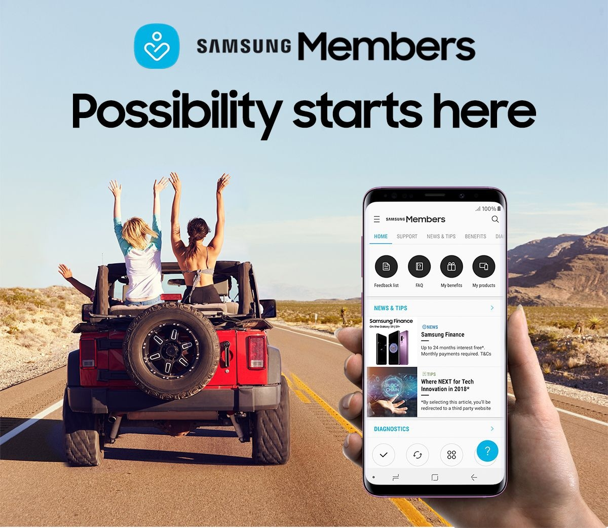 SAMSUNG Members | Possibility starts here