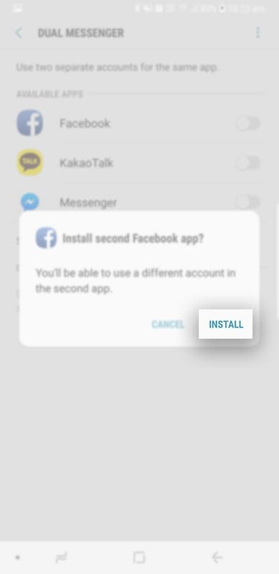 What is the Dual Messenger feature? | Samsung Support Australia