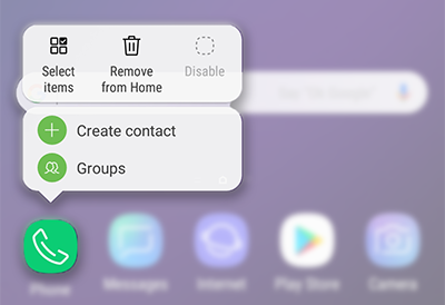 What is the App Icon Badge feature? | Samsung Support Australia