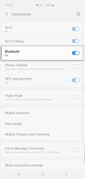 Pairing A Bluetooth Device To My Samsung Phone Samsung Support Australia