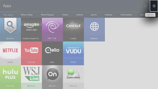 Delete Apps from Smart Hub on Samsung Smart TV  | Samsung