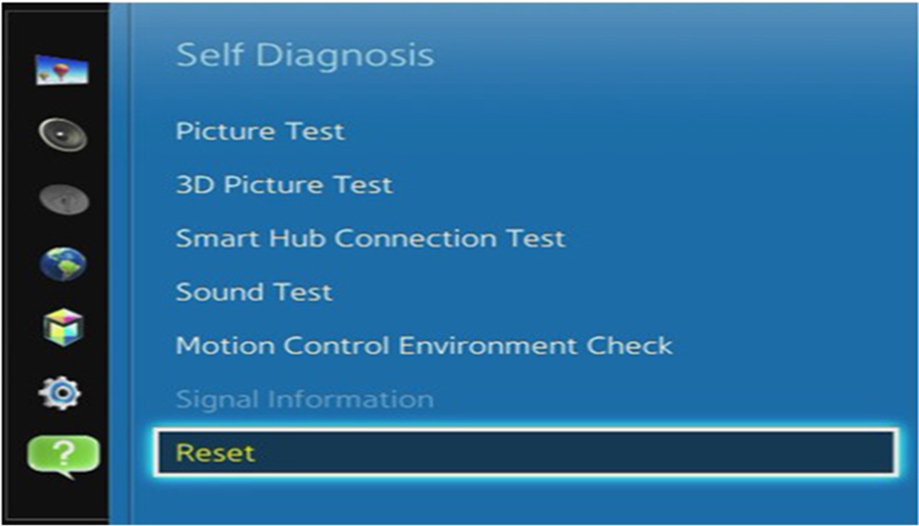 How do I perform a Factory Data Reset on my Smart TV