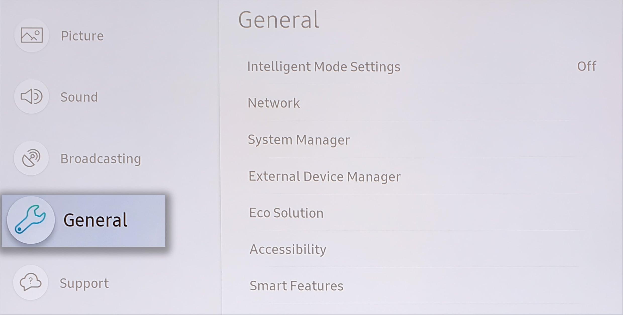 Activate Energy Saving Mode on a Samsung TV  | Samsung