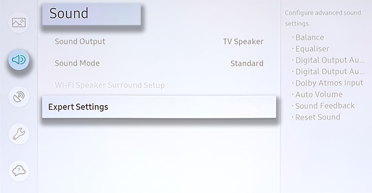 Audio Delay on Samsung TVs | Samsung Support Australia