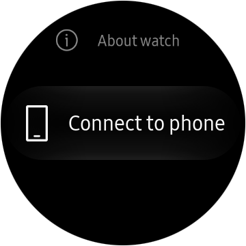 Scroll to the bottom to select Connect To Phone