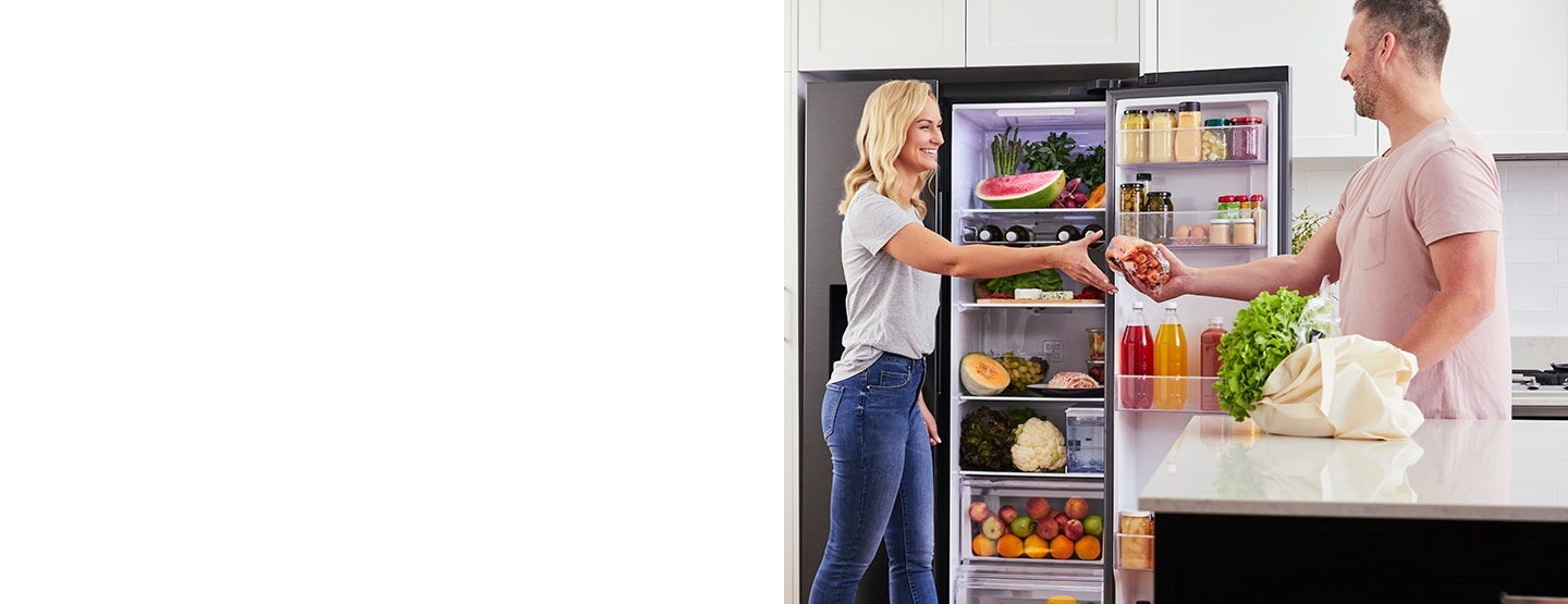 676L Side by Side Refrigerator