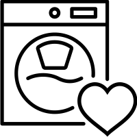 Washing Machine Health Check Icon