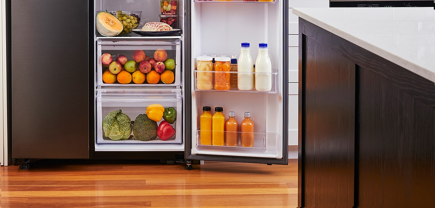 Easily store your vegetables and fruits