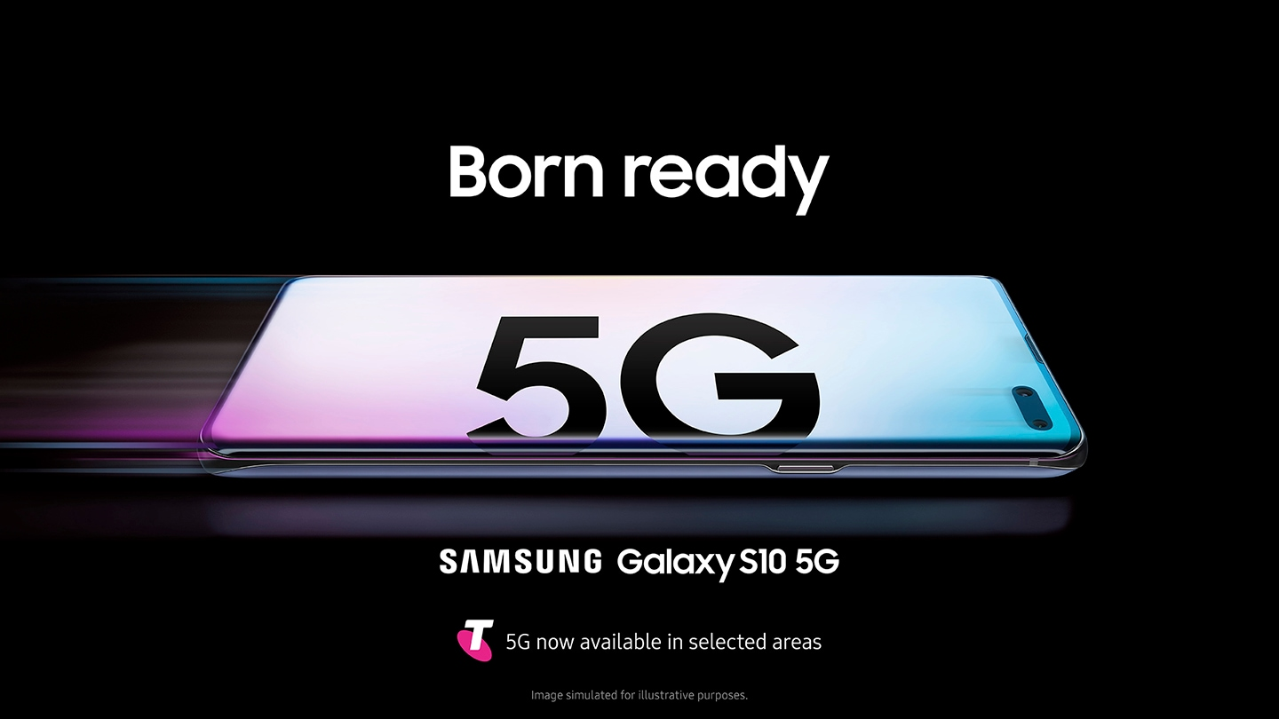 Image of Galaxy S10 5G - Available with Telstra