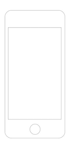 image of iphone vector