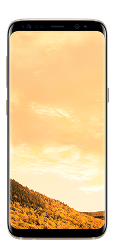 image of samsung galaxy s8 gold