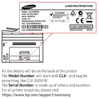 How to find the serial number | Samsung Australia