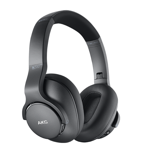AKG N700NC M2 Wireless Headphones in zwart