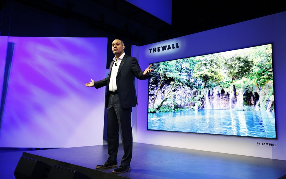 CES 2018 is The Wall
