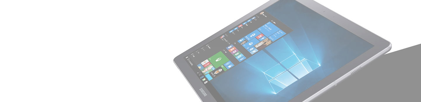 Samsung tablet Windows home