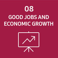 Image représentative du SDG good jobs and economic growth.