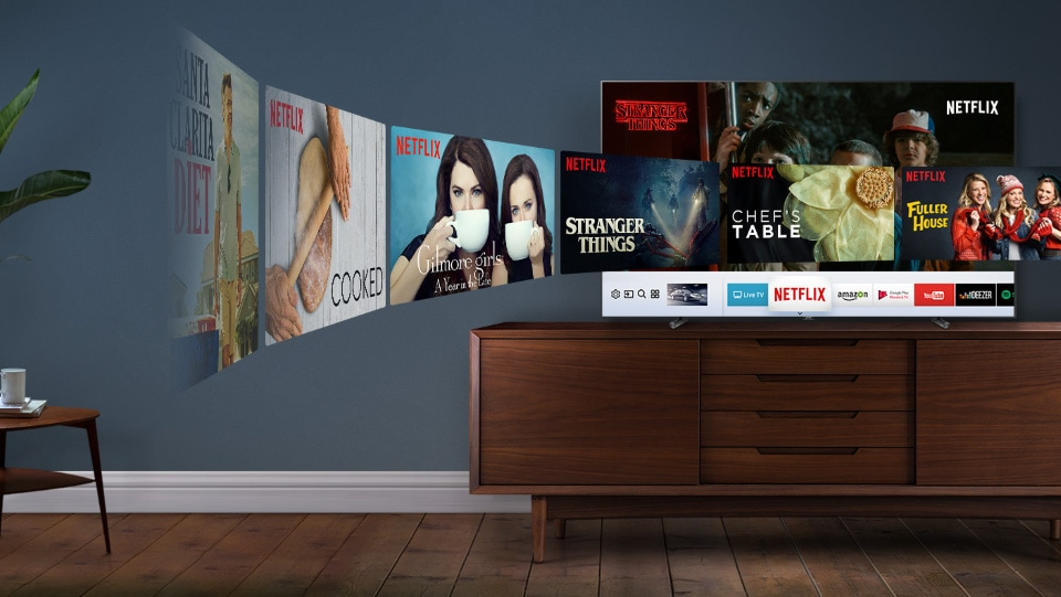 Smart TV Samsung et Netflix
